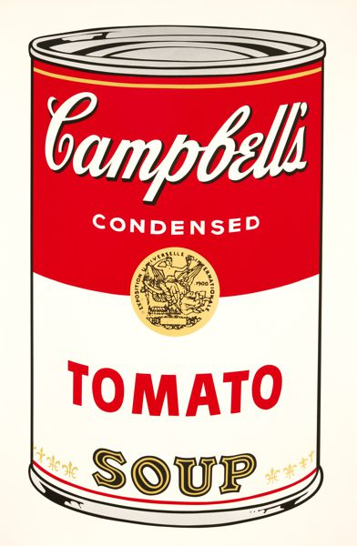 Andy Warhol - Campbell's Soup 1 (Tomato), 1968