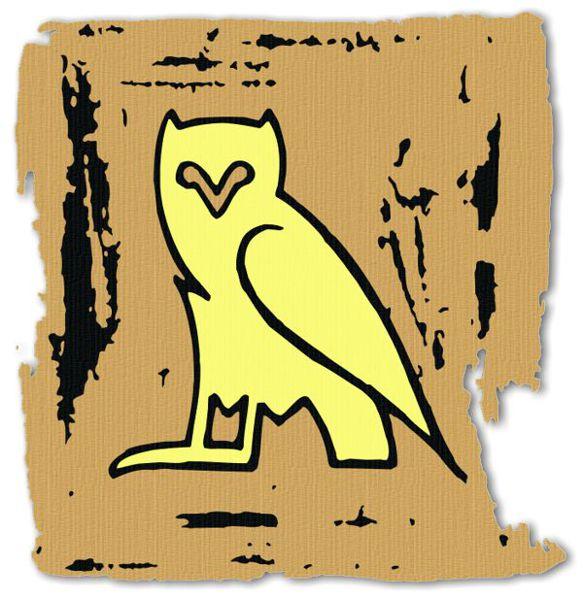Ancient Egyptian Hieroglyphics Alphabet M N O