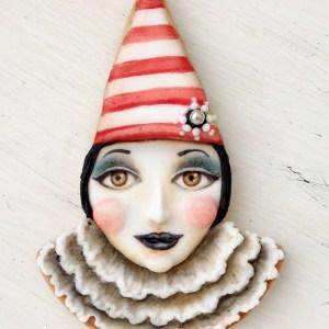 Arty McGoo's Clown/Piping Bag Cookie Cutter