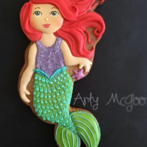 Arty McGoo's Mermaid Cookie Cutter