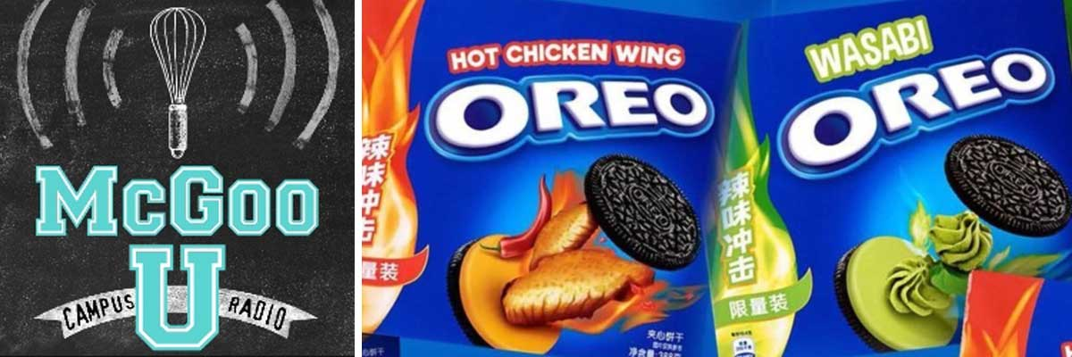 The Return of Cookie News, Bizarre Oreo Tasting & October Fun in McGoo U!