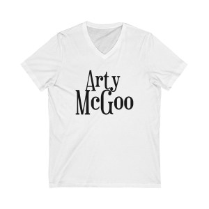Arty McGoo V Neck Tee