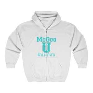 McGoo U Zip Up Sweatshirt