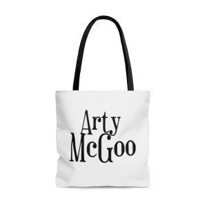 Arty McGoo Tote Bag