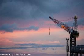 Crane on Paspaley
