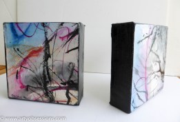 Little Free Standing Canvases 13cm x 13cm