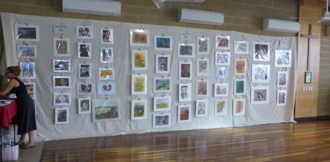 My Art Display – St Mary's Catholic Primary School