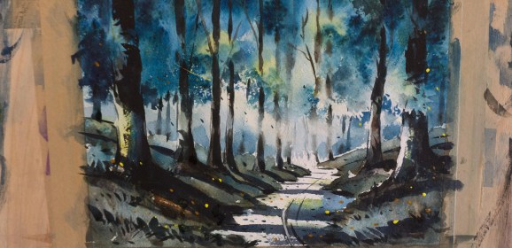 A wonderful Watercolour Course in Chiang Mai!