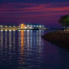 Stokes Hill Wharf Sunset