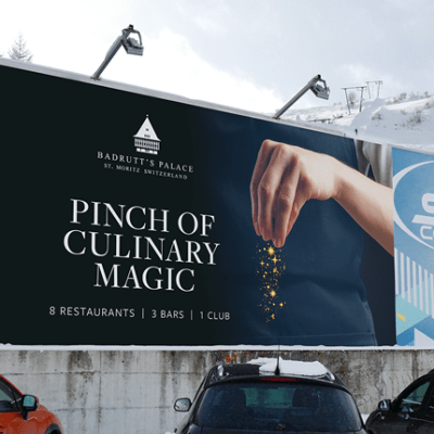 Badrutt's Palace Billboard