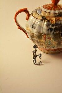 Armenian Handmade Sterling Silver Pendant Letter Ye