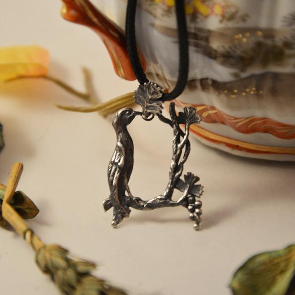Armenian Handmade Pendant Letter A