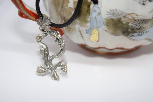 Armenian Handmade Sterling Silver Pendant Letter K(e)