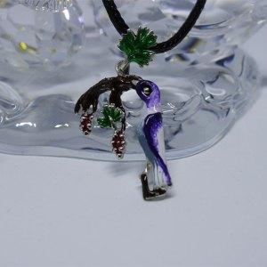 Armenian Handmade Pendant B ENAMEL