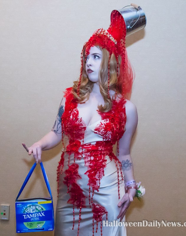 Mad Monster Expo 2021 Costume Contest Winner Holly Hughes