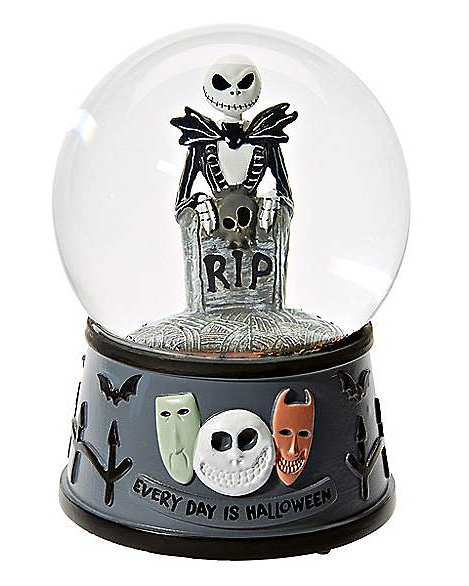 Jack Skellington Musical Snow Globe