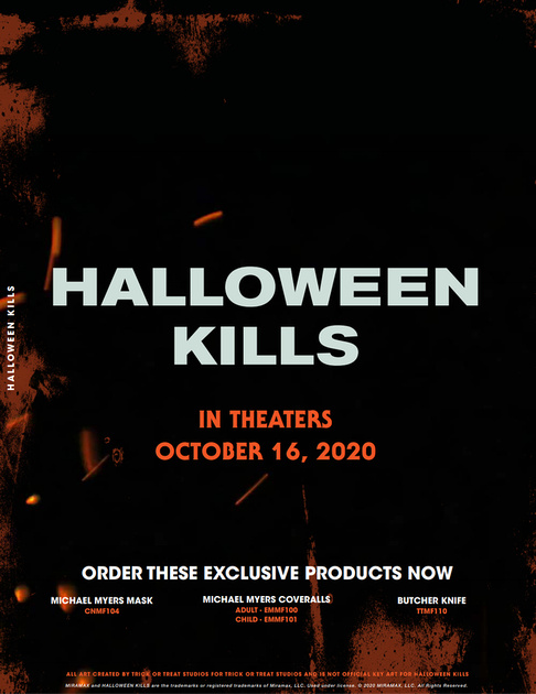 Coveralls Halloween 2020 Trick or Treat Studios 2020 New Masks Revealed | Halloween Daily News
