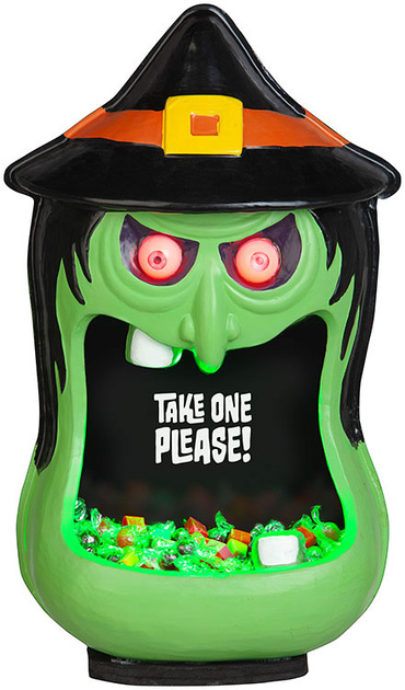Door Accessory Witch Candy Bowl
