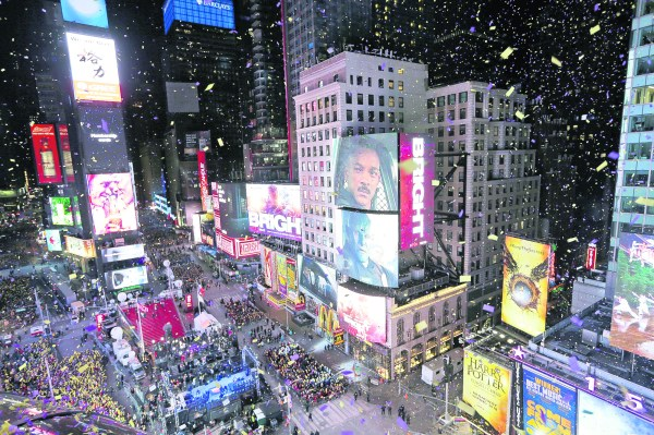 Ring in the new: NYPD drone to oversee Times Square ...