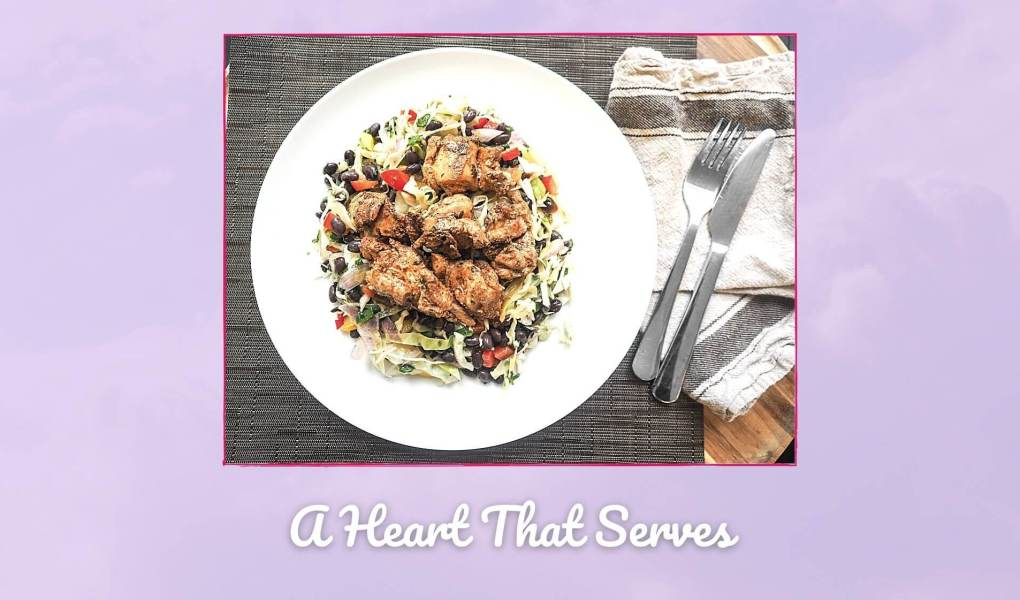 A Heart that Serves Picture of plate of food