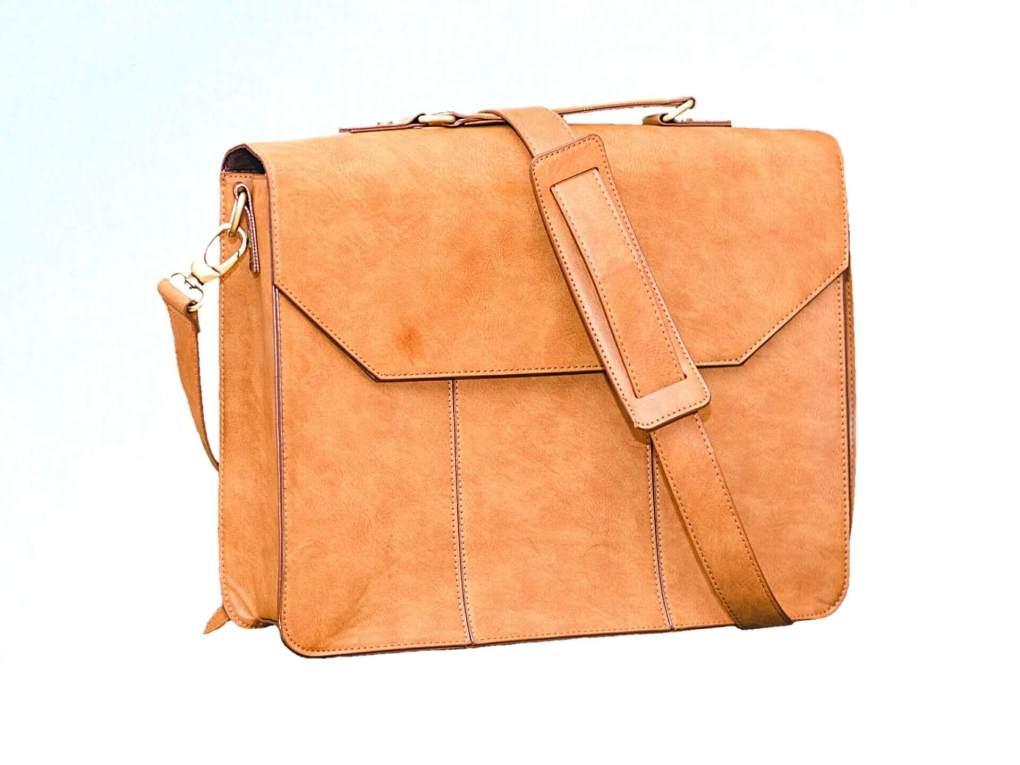 A brown purse