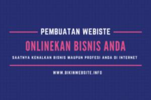 Jasa Pembuatan Website dan Toko Online