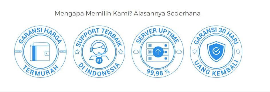Niagahoster.co.id adalah salah satu penyedia jasa layanan web hosting terbaik di Indonesia