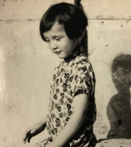 Me at three years old in our palazzo in Italy when my father was the Chinese ambassador in Rome.