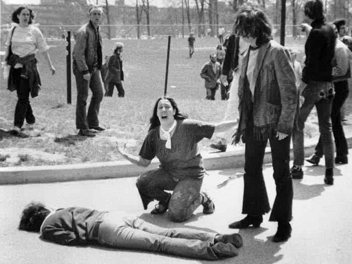 Kent State, May 4, 1970. Photo: John Paul Filo, who was a journalism student at Kent State University at the time - © 1970 Valley News-Dispatch