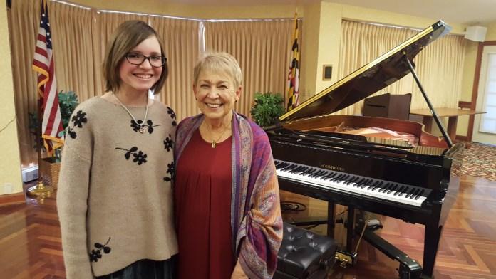 Ingrid Schrecker, 13, and Cecelia M. Wyatt