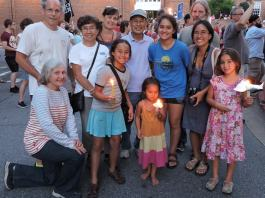 Families gather in annapolis for candleight vigil