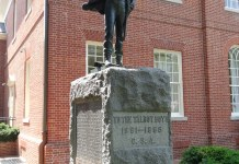 Talbot Boy Confederate Monument