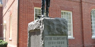 Talbot Boy Confederate Monument