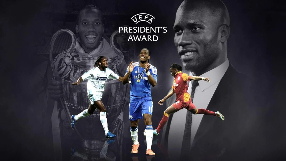 Didier Drogba to receive UEFA President's Award!