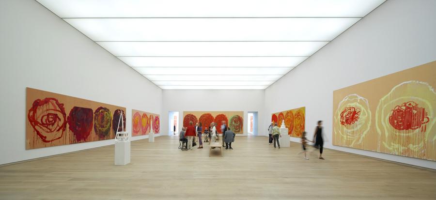 brandhorst museum lighting innovation