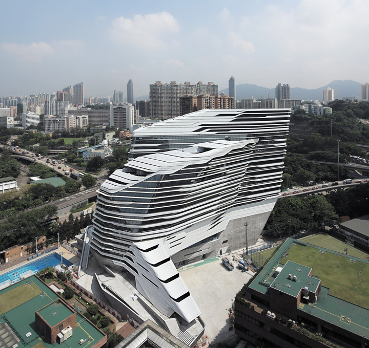 Engineering the Innovation Tower Hong Kong - Arup
