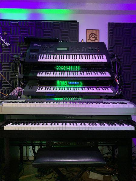 Arvada Guitar Keyboard Tower