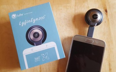 A Review of the LyfieEye 200 360° Camera for Android
