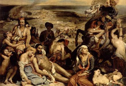 1822 έσφαζαν οι Εβραίοι σαν κρέας σε σφαγείο τους Έλληνες!
