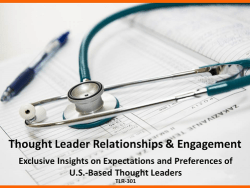 US Thought Leader Relationships