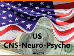 KOL FMV RATES US CNS NEURO PSYCHO