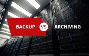 backup vs archiving