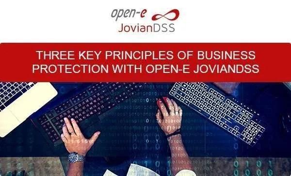 open-e joviandss SDS