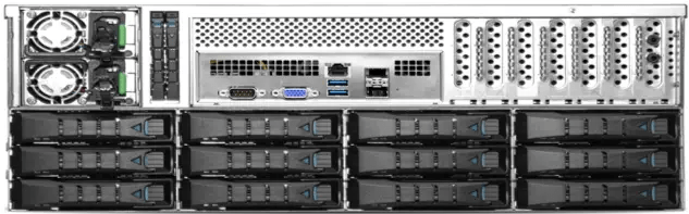 36 bay video surveillance NVR