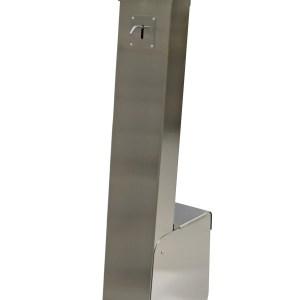ARYA, Dispenser, Colonnina igienizzante, da esterni, piantana, igienizzante, gel, sanificante, sanificazione