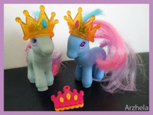 Mon Petit Poney G2 Princess Jewel Princess Sparkle Princesse Star Princesse Strass 2000