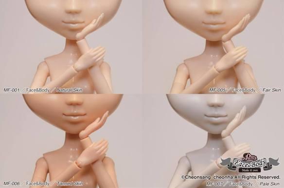 Pullip Make It Own MIO new skins