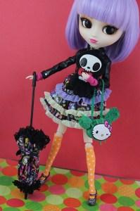 pullip de 2014 Violetta Tokidoki Hello Kitty Limited Edition Limite