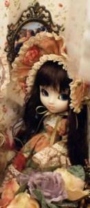 prototypes de 2010 Pullip Flower Lolita Brown Hair