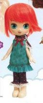prototypes de 2007 Angel Pullip Red Hair